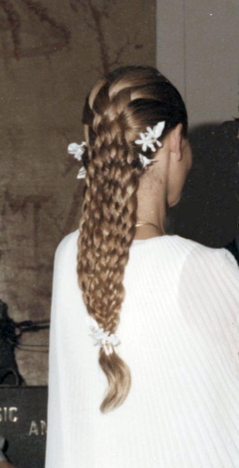 Les coiffures de mariées